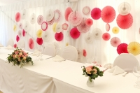 bryllupsdekorasjon